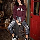Wine Willow Sweatshirt