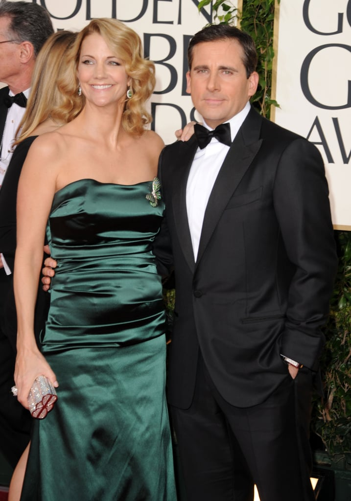 Nancy and Steve Carell