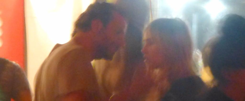 Bradley Cooper and Suki Waterhouse Hugging at Coachella 2015