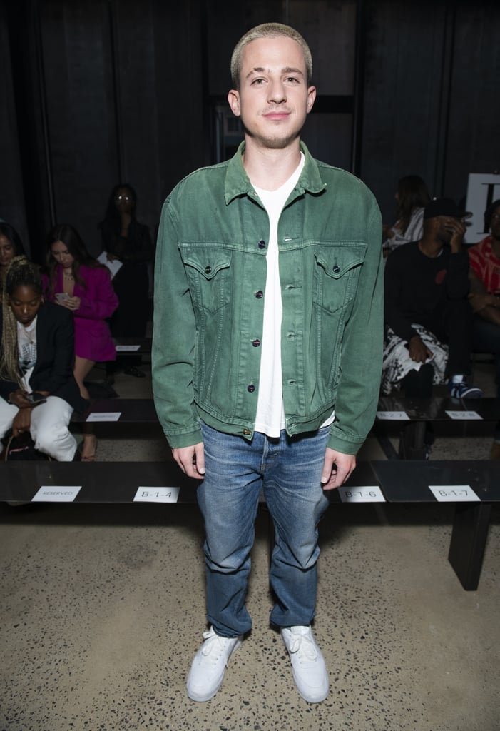 Charlie Puth at the R13 New York Fashion Week Show
