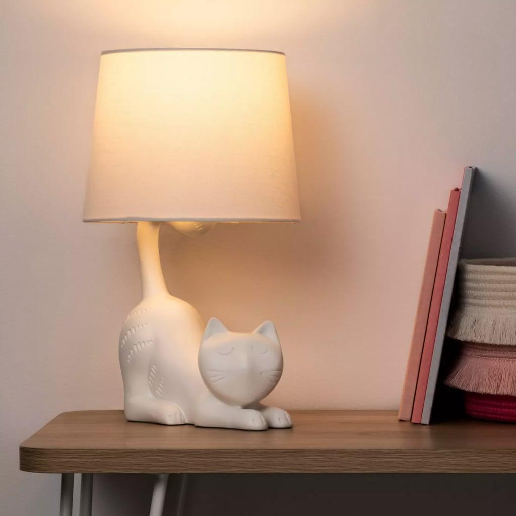 Pillowfort Cat Figural Table Lamp