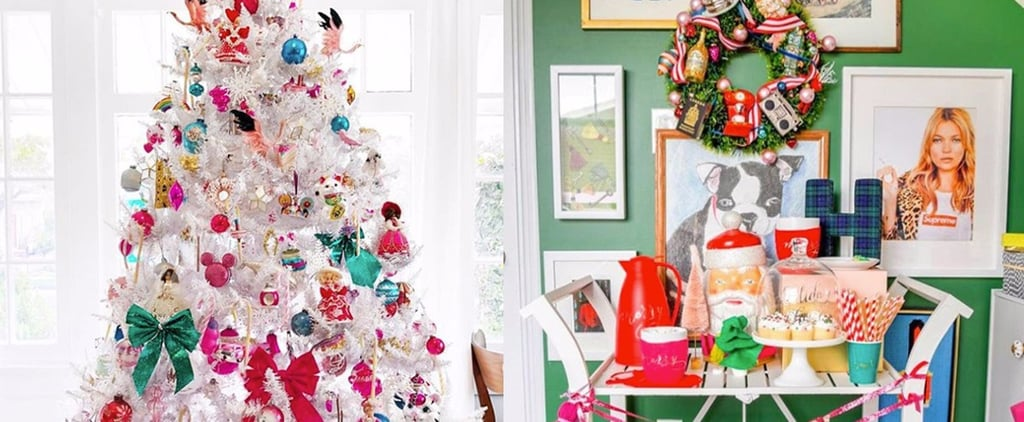 Colourful Christmas Decorating