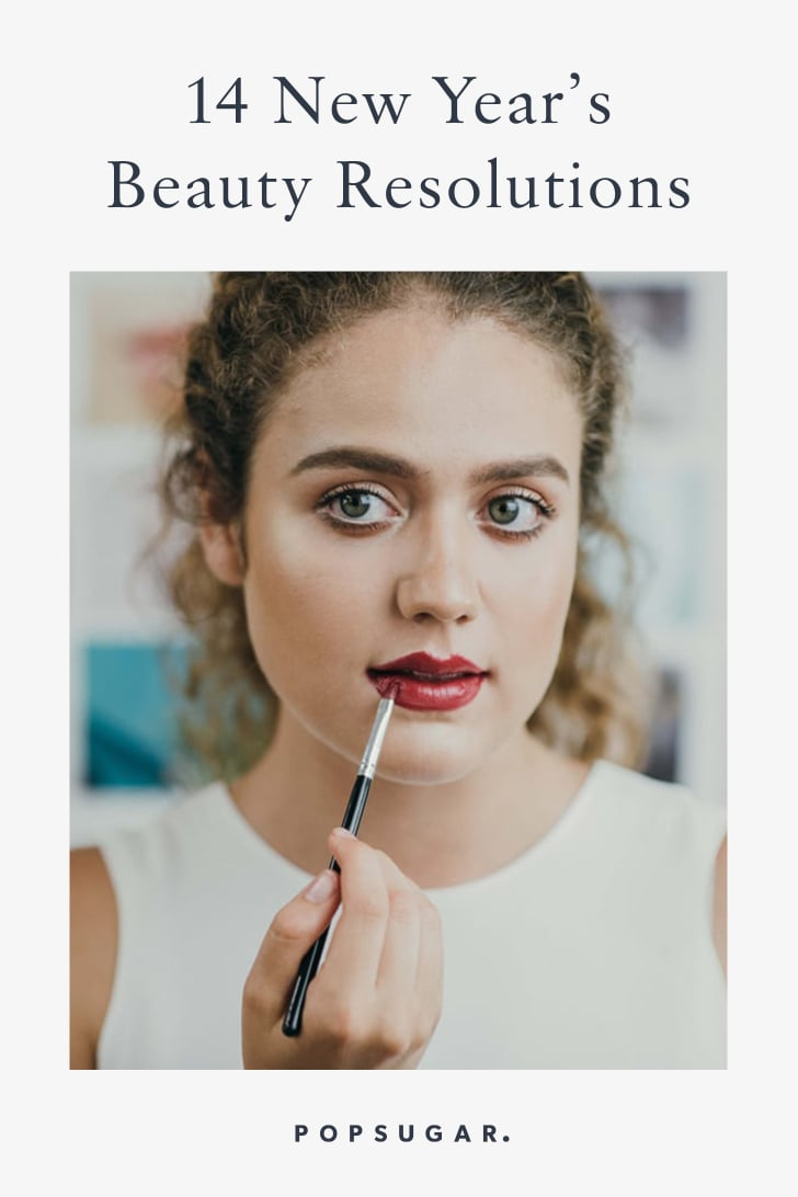 New Year's Beauty Resolutions 2019