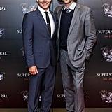 """Jensen Ackles = 6'1"""", Jared Padalecki = 6'4"""""""