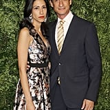 Abedin and Weiner attended the CFDA/Vogue Fashion Fund Awards in New York City in November 2015.