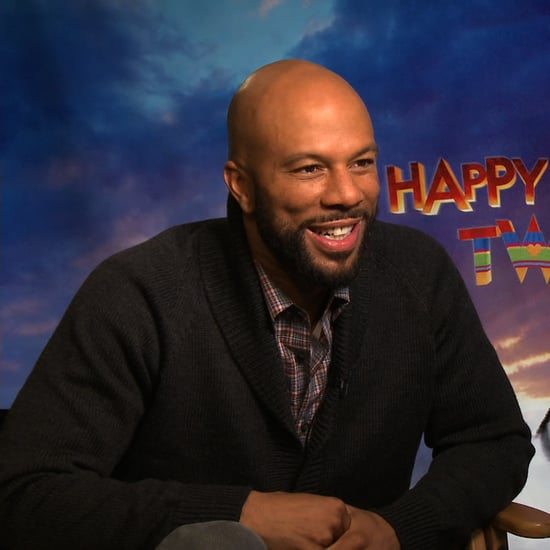 Common Happy Feet Two Interview (Video)