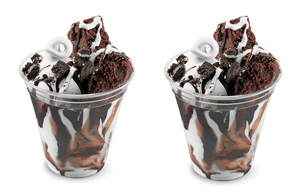 Dairy Queen Brownie and Oreo Cupfection