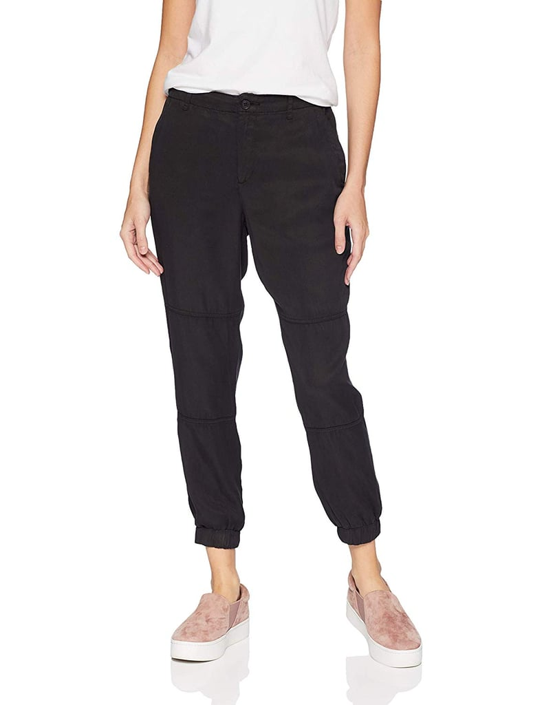 Daily Ritual Tencel Button-Fly Joggers