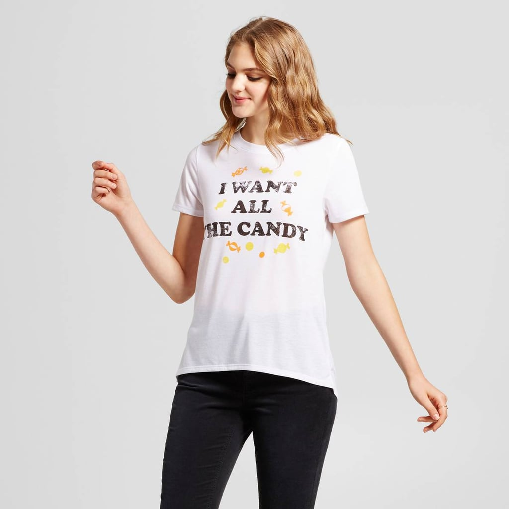 Modern Lux I Want All the Candy Graphic T-Shirt