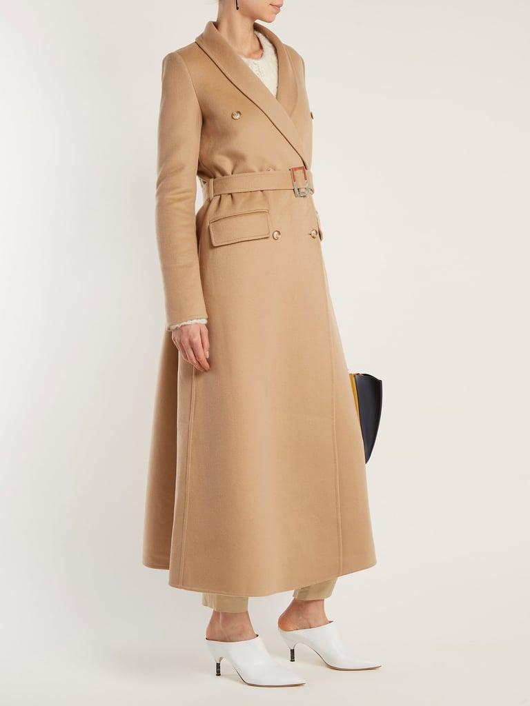 Gabriela Hearst Joaquin Cashmere Belted Coat