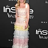 Kirsten Dunst at the InStyle Awards 2019