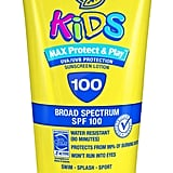 Banana Boat Kids Max Protect & Play Sunscreen Lotion, SPF 100