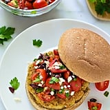 Mediterranean Quinoa Burgers With Tomatoes and Olives