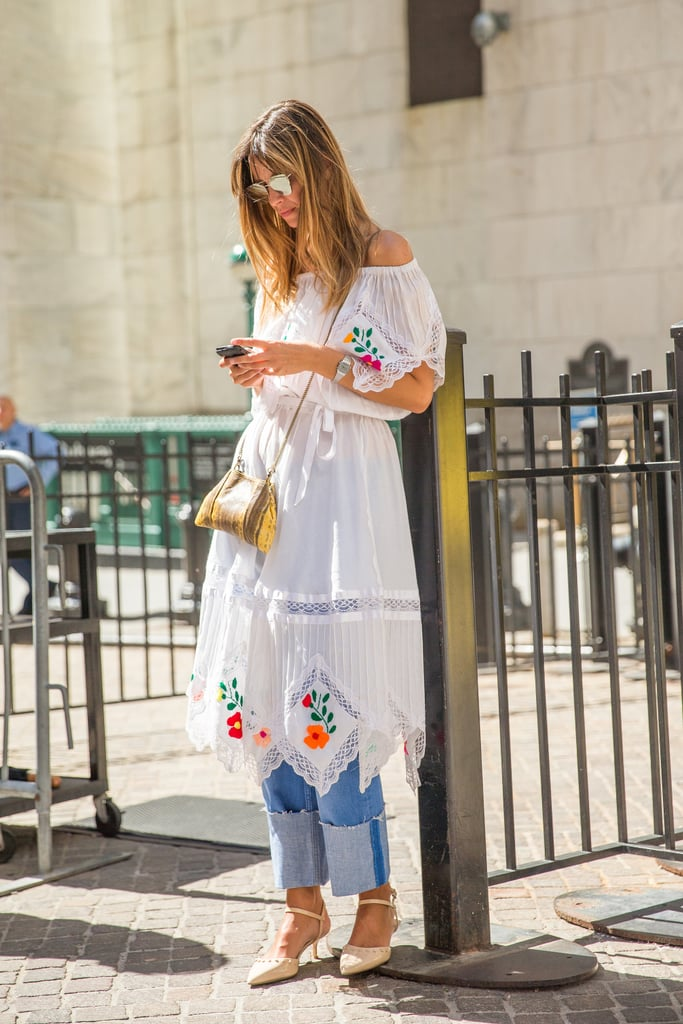 A Dress Over Pants