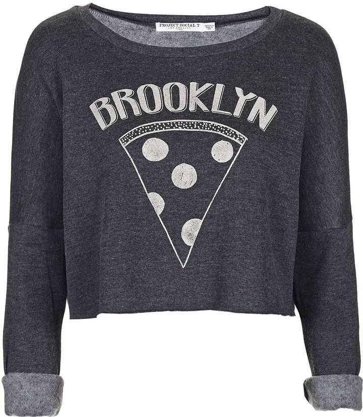 Project Social T Brooklyn Pizza Crop Top ($58)
