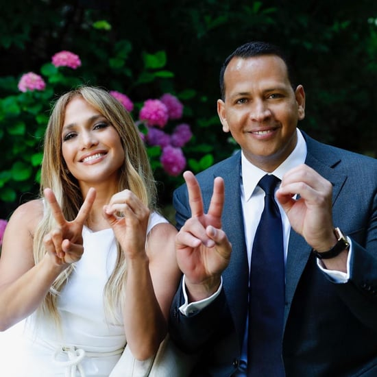 Watch Jennifer Lopez and Alex Rodriguez's Graduation Speech