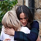 When She Hugged Social Bite Cofounder Alice Thompson . . .