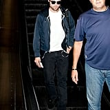 Robert Pattinson left LA.