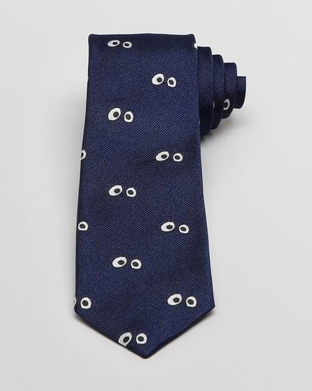 Jack Spade Googly Eyes Skinny Tie