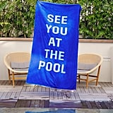 Beach, Please! Giant Towel — See You at the Pool