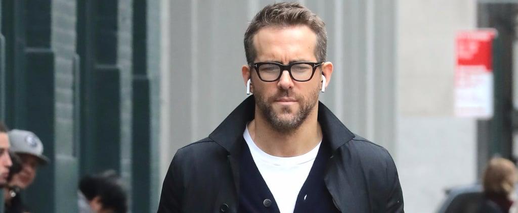 Ryan Reynolds Looks Devilishly Handsome After Destroying Wife Blake Lively on Instagram