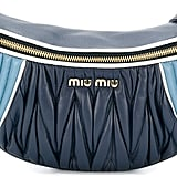 Miu Miu Two-Toned Matelassé Belt Bag