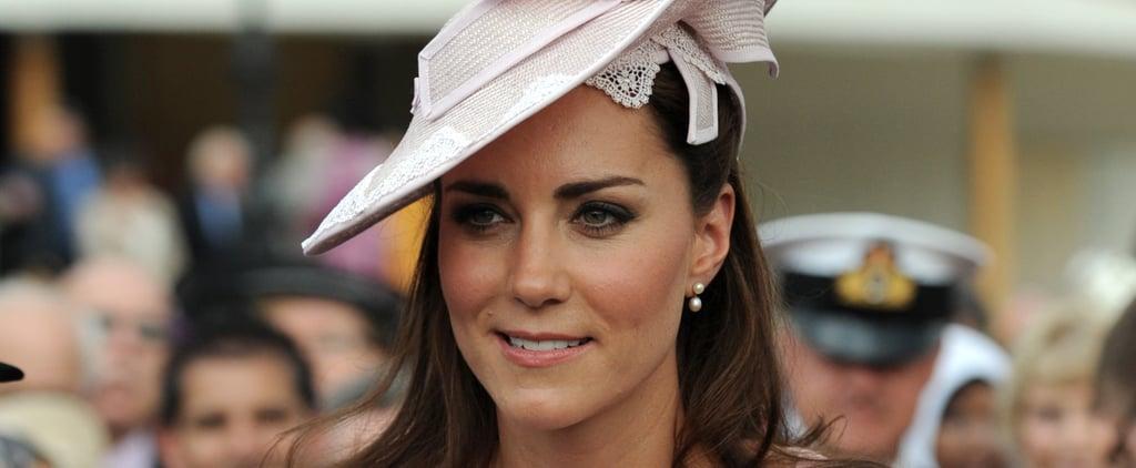 The Duchess of Cambridge Wearing Millennial Pink