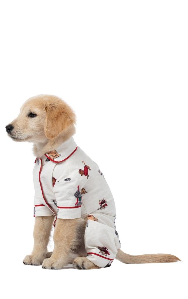 50e2ca0812 Pajamagram Holiday Dog Print PJ Set