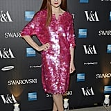 Nicola Roberts got a preview of the Alexander McQueen exhibition at the V&A on Saturday.