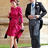 When They Made a Fabulous Appearance at Princess Eugenie's Wedding