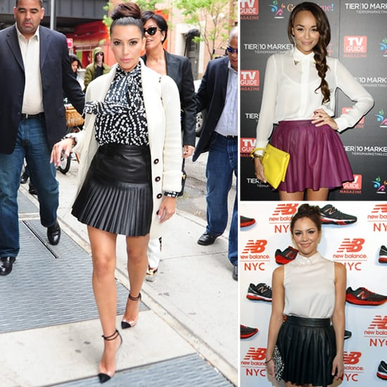 Celebs Love Pleated Leather Skirts and So Should You!