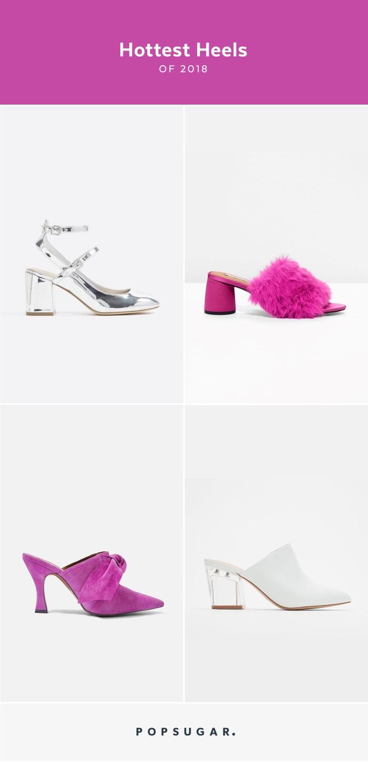 Shop ALDO Faux Fur Plain Pin Heels Elegant Style Heeled
