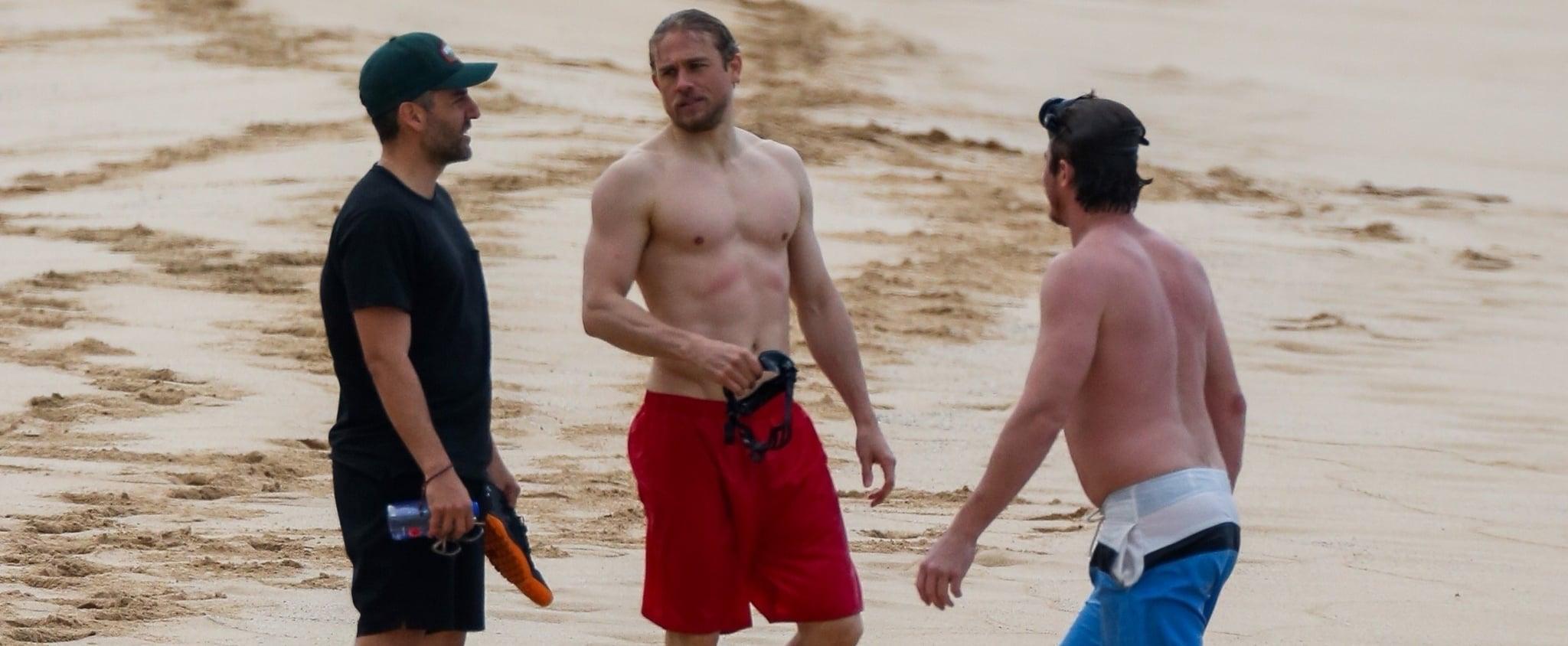 Literally Just 200+ Photos of Shirtless Charlie, Ben, Oscar, and Garrett Having a Blast on the Beach!