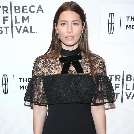 Jessica Biel's Black Dress at the Tribeca Film Festival 2016