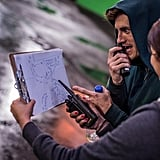 The Amazing Spider-Man director Marc Webb posted a photo from the set. Source: Twitter user MarcW