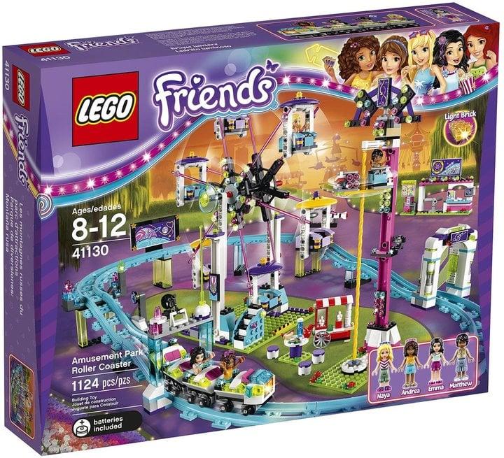 Lego Friends Amusement Park Roller Coaster Lego Gifts For Kids