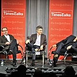 George Clooney and Alexander Payne talked about their movie.