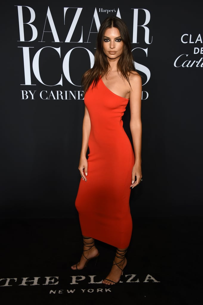 Emily Ratajkowski at the Harper's Bazaar ICONS Party During New York Fashion Week