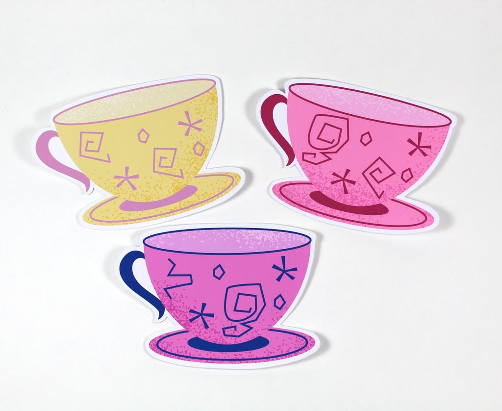Alice in Wonderland Teacup Stickers