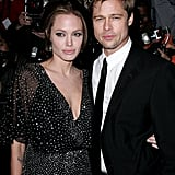 Angelina Jolie and Brad Pitt in 2006