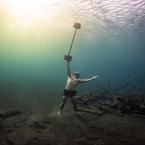 Freediver Does CrossFit Underwater