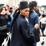 Sorry, but Can We Talk About Janelle Monáe s Amazing Electric Blue Cat Eye?