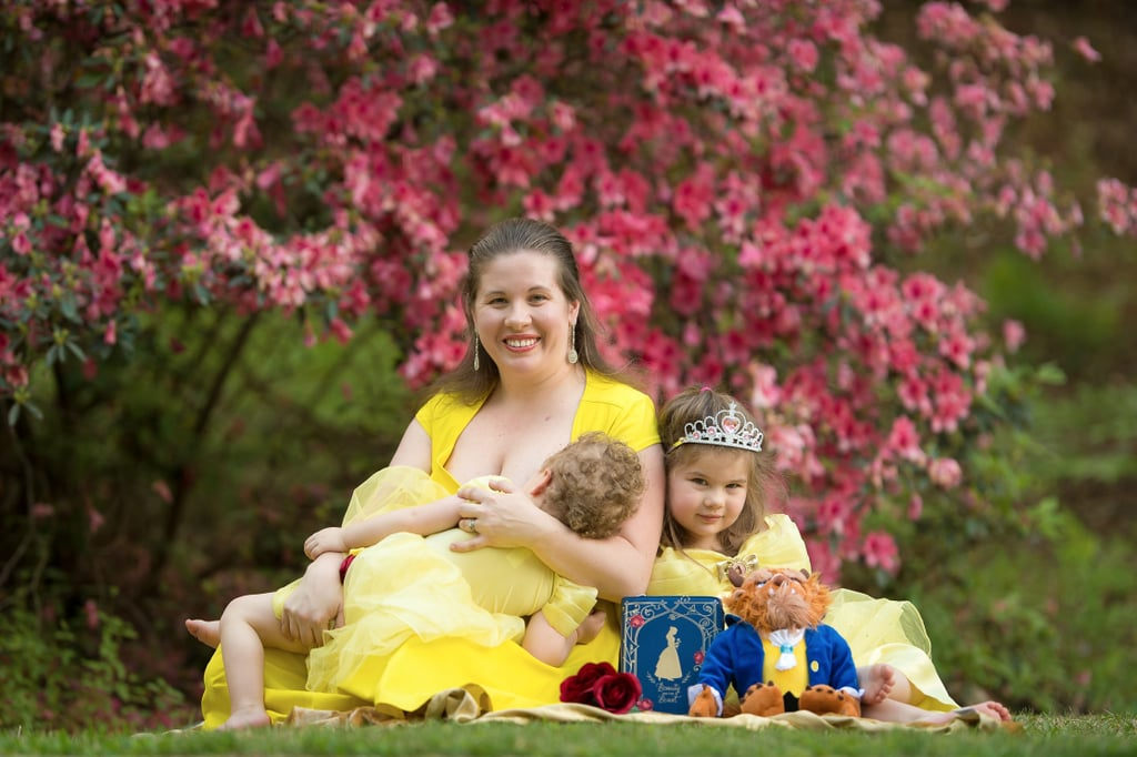 The Enchanting Story Behind These Beauty and the Beast-Inspired Breastfeeding Photos