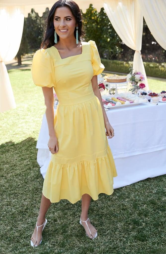 Rachel Parcell Puff-Sleeve Dress