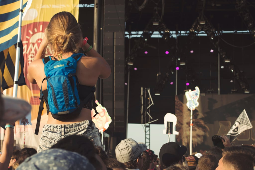 Experience an outdoor concert.
