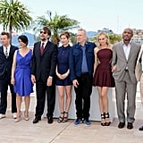 Jury members Alexander Payne, Raoul Peck, Diane Kruger, Jean-Paul Gaultier, Emmanuelle Devos, Nanni Moretti, Hiam Abbass, Ewan McGregor, and Andrea Arnold got together for the jury photo call during the 65th Annual Cannes Film Festival.