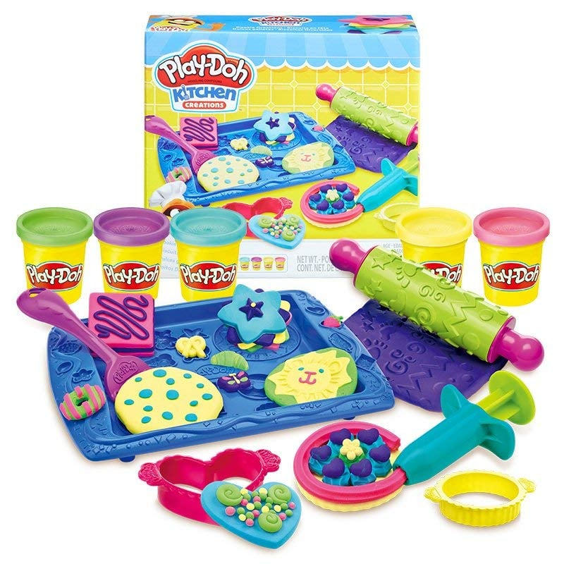 For 4-Year-Olds: Play-Doh Sweet Shoppe Cookie Creations