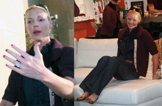 Katherine Heigl Wants a Couch and Some Babies