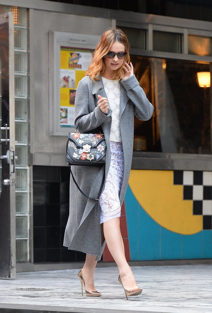 Sienna Miller Wearing a Gucci Bag