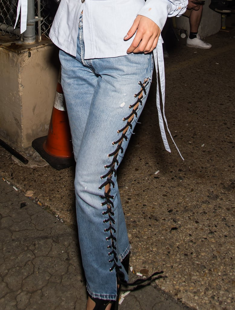 A Close-Up Look at the Jeans